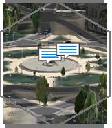 Návrh rozvoja mesta v 3D